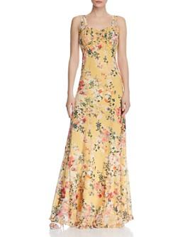 Divine Heritage - Floral Maxi Dress