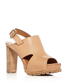 See by Chloé - Women's Slingback Platform High-Heel Sandals