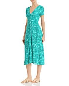 Sadie & Sage - Floral-Print Midi Dress - 100% Exclusive