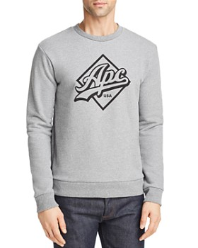 A.P.C. - Sherman Logo Graphic Sweatshirt