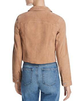 BLANKNYC - Suede Trucker Jacket