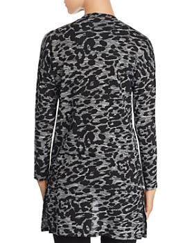 Alison Andrews - Leopard Print Open Front Cardigan