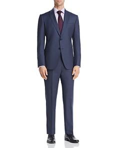 Armani - Micro-Checked Virgin Wool Slim Fit Suit