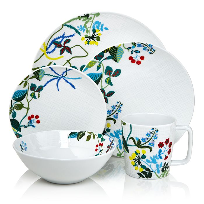 Bernardaud - Organza Jardin Dinnerware - 100% Exclusive