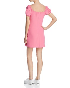 Cotton Candy LA - Puff-Sleeve Mini Dress