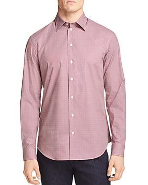 Armani Collezioni T-shirts EMPORIO ARMANI FLORAL PATTERNED CLASSIC FIT SPORT SHIRT