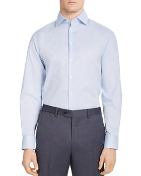 Armani - Stitched Classic Fit Dress Shirt