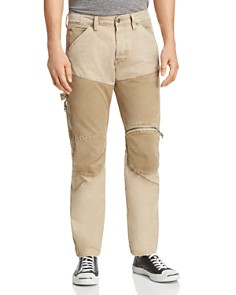G-STAR RAW - 5620 Workwear 3D Zip Skinny Fit Jeans in Khaki