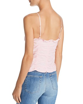 For Love & Lemons - Palmetto Corset Camisole Top