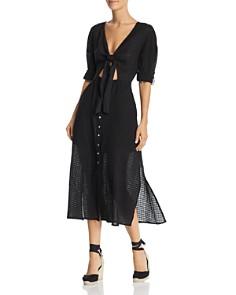 Suboo - Eclipse Tie-Front Midi Dress