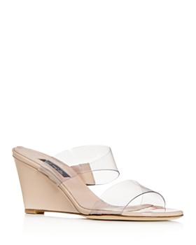 e4fa8d5101bc SJP by Sarah Jessica Parker - Women s Fleur Wedge Sandals - 100% Exclusive  ...