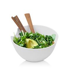 Nambé - Quatro Salad Bowl & Server Set