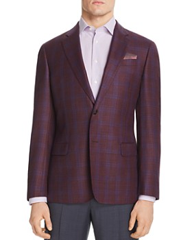 Armani - Emporio Armani Checked Regular Fit Tailored Jacket