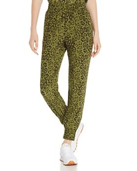 d3173cef40b AQUA - Leopard Print Jogger Pants - 100% Exclusive ...