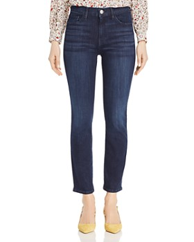 3x1 - W2 Crop Straight Jeans in James - 100% Exclusive