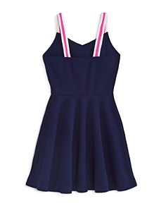 AQUA - Girls' Striped-Strap Skater Dress, Big Kid - 100% Exclusive