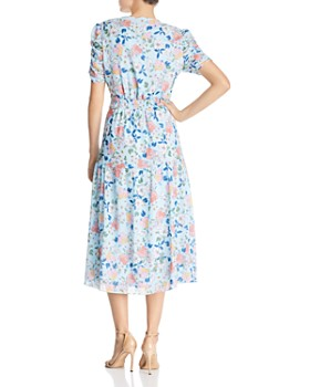 Shoshanna - Lucio Floral Midi Dress - 100% Exclusive