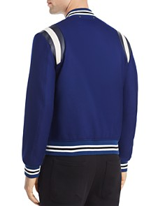 Paul Smith - Stripe Trim Varsity Jacket