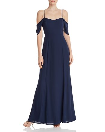 WAYF - Rachel Cold-Shoulder Dress