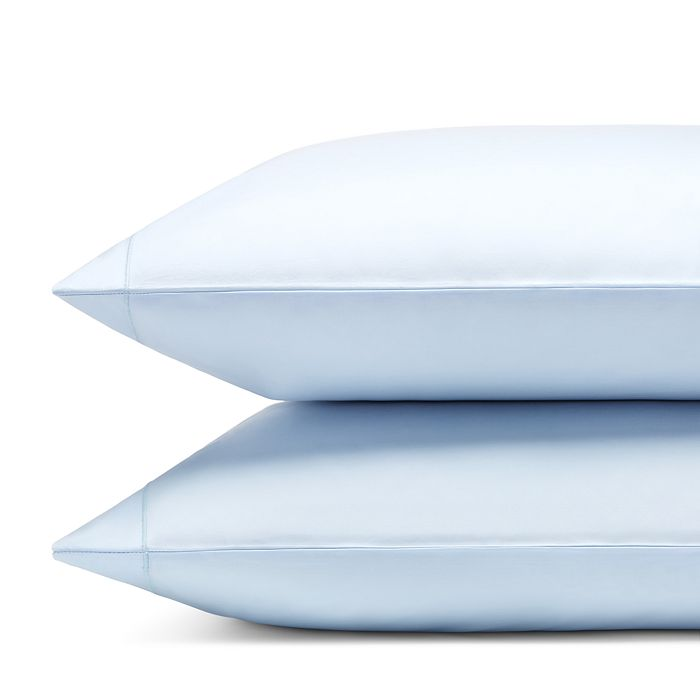 Matouk Luca Satin Stitch King Pillowcase Pair