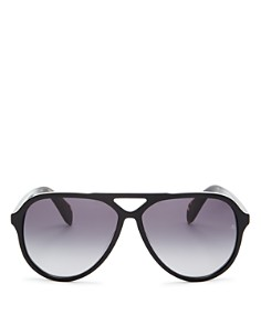 rag & bone - Men's Brow Bar Aviator Sunglasses, 54mm