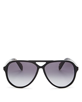 rag & bone - Men's Brow Bar Aviator Sunglasses, 54mm
