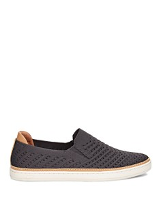 UGG® - Women's Sammy Chevron Knit Slip-On Sneakers