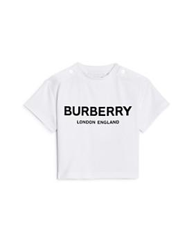 Burberry - Unisex Mini Robbie Logo Tee - Baby