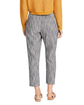Free People - Light At Sunrise High-Rise Striped Pants