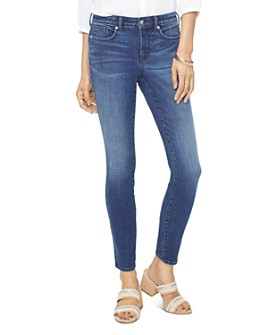 NYDJ - Ami Frontier Embroidered Skinny Jeans in Rego
