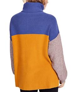 Free People - Color-Block Turtleneck Sweater