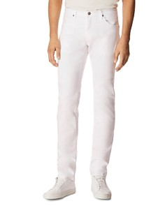 J Brand - Tyler Slim Fit Jeans in White