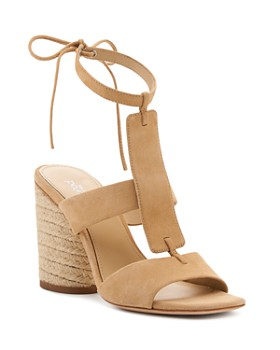 Botkier - Women's Alexia Suede Ankle Tie Sandals