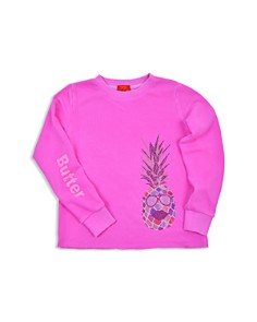 Butter - Girls' Pineapple Top - Little Kid, Big Kid