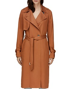 Soia & Kyo - Nousha Long Trench Coat