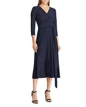 beab69a5721 Ralph Lauren - Polka-Dot Jersey Dress ...