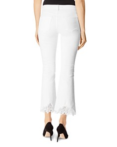 J Brand - Selena Mid Rise Crop Boot Jeans in Avalon