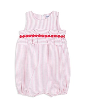Tartine et Chocolat - Girls' Crochet-Trim Stripe Romper - Baby
