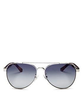 7d4ea2d606 Tory Burch - Women s Brow Bar Aviator Sunglasses
