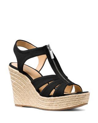 Berkley Woven Espadrille Wedge Sandals