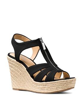 MICHAEL Michael Kors - Women's Berkley Woven Espadrille Wedge Sandals