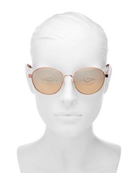 Tory Burch - Women's Round Sunglasses, 56mm