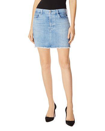 J Brand - Bonny Denim Mini Skirt in Andromeda