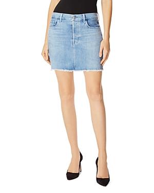 J Brand Skirts BONNY DENIM MINI SKIRT IN ANDROMEDA