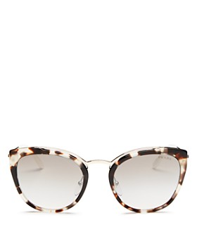 ae9e072309b9 Prada - Women's Mirrored Cat Eye Sunglasses, ...