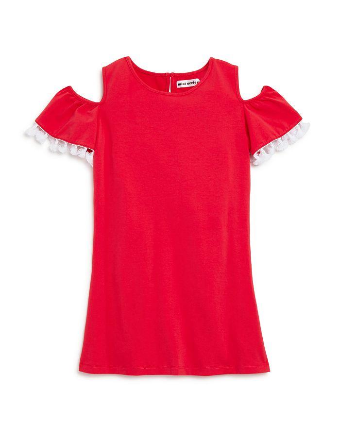 Mini Series - Girls' Cold-Shoulder Tassel Dress, Little Kid - 100% Exclusive