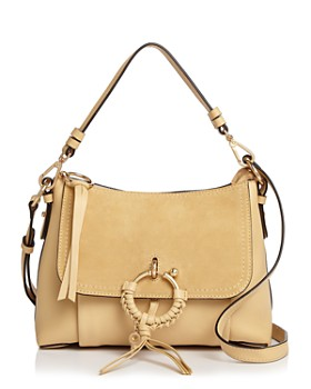 47f5e27ac148 See by Chloé - Joan Small Leather   Suede Convertible Shoulder Bag ...