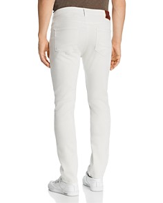 PAIGE - Lennox Slim Fit Jeans in Coconut Milk