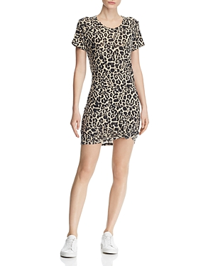 Generation Love Dresses HOLLY LEOPARD PRINT TEE DRESS
