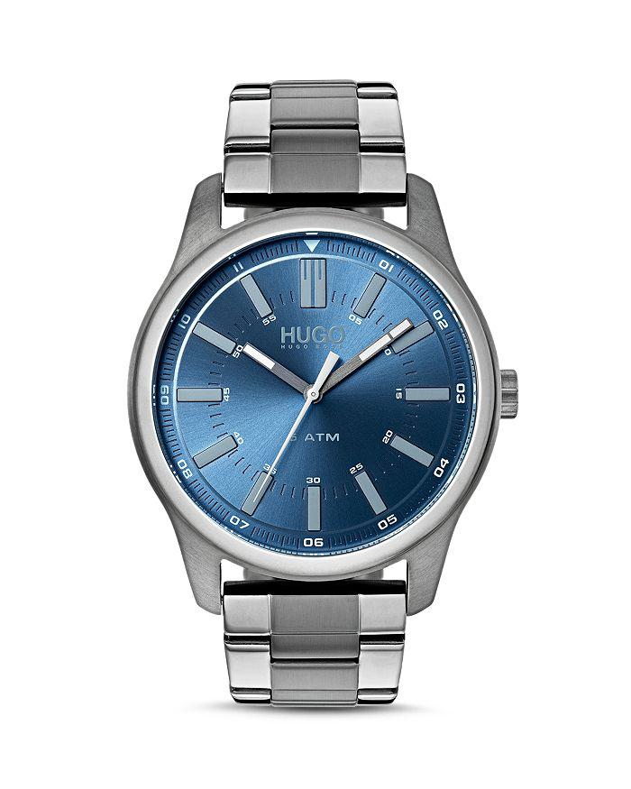 HUGO - #RISE Blue Dial Watch, 44mm